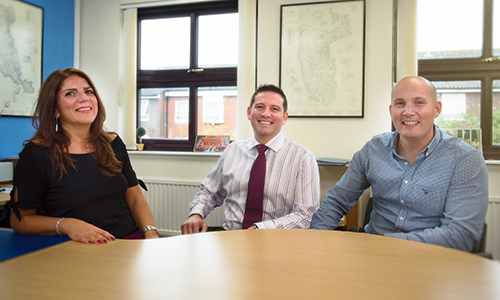 Richard Halsey, James Paoloni and Christine Constantinou - Halsey and Co Accountants in Cheam, Surrey